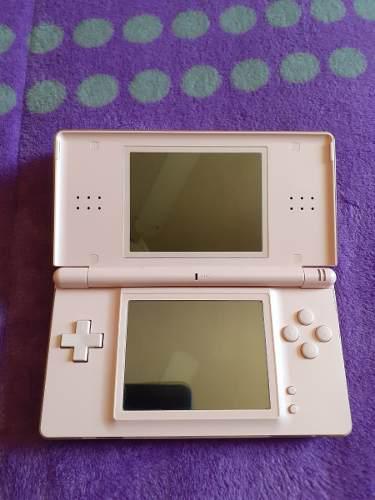 Nintendo Ds Lite Rosa Cargador Stylus + Pokemon Soul Silver