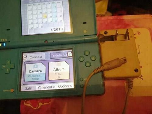 Nintendo Ds (con Tres Juegos En Físico)