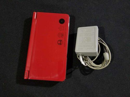 Nintendo Dsi Xl Rojo Super Mario 25th Anniversary A