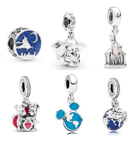 Pandora Charm Disney Varios Modelos