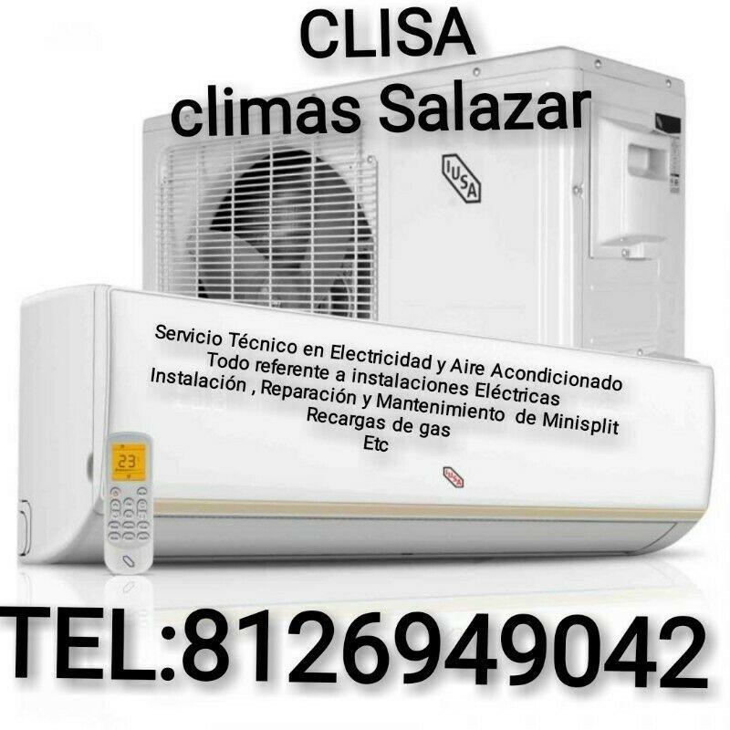 Servicio de mantenimientos de minisplit, instalación y