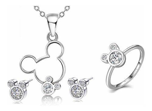 Swarovski Elements Set Disney Mimi Mickey Mouse