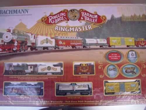 Tren Bachmann Ho Circo Ringling Bros And Barnum & Bailey