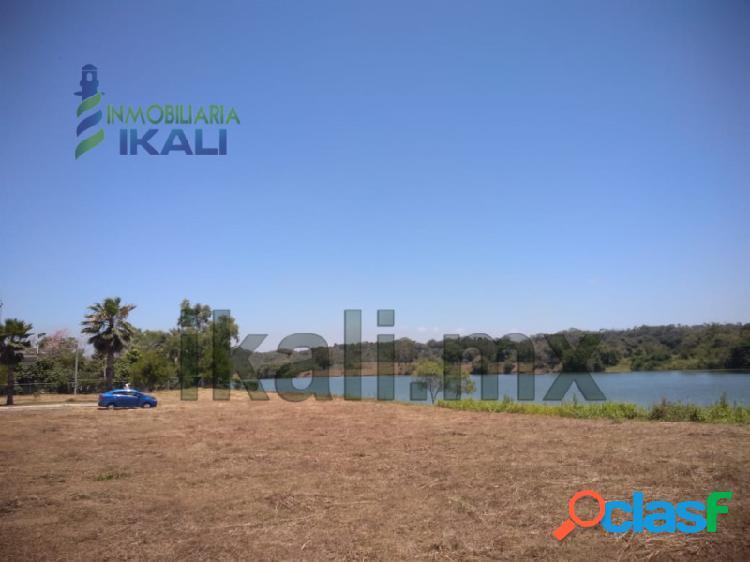 Venta Terreno 3000 m² Chomotla frente al río Tuxpan