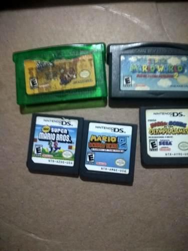 leer Descripcion *juegos De Mario Para Ds Y Gba