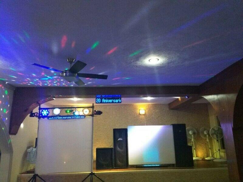 servicio de karaoke y luz y sonido 5 horas