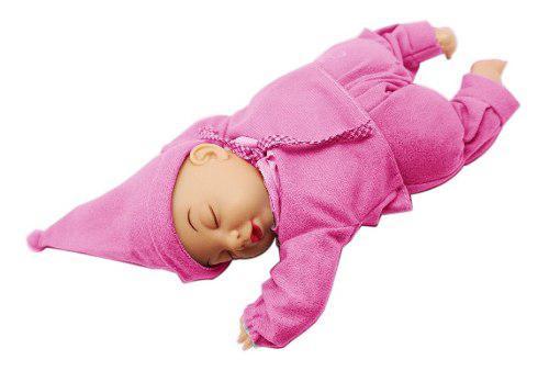 Bebé Muñeco Dormilón Sonido Varios Colores Juguetes