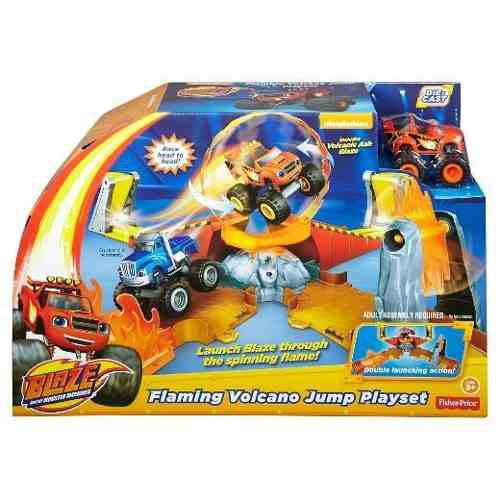 Blaze Salto A Volcan - Fisher Price