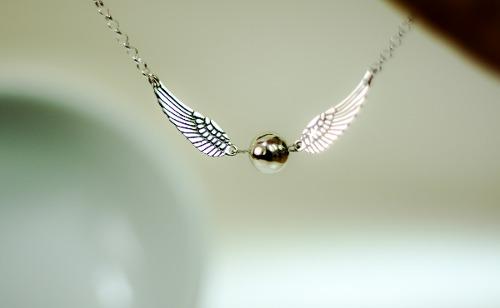 Elegante Collar Joyeria Plata Ley 925 Moda Alas Angel Snitch