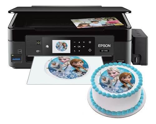 Epson Xp440 Sistema De Tinta Continua/ Tinta Comestible