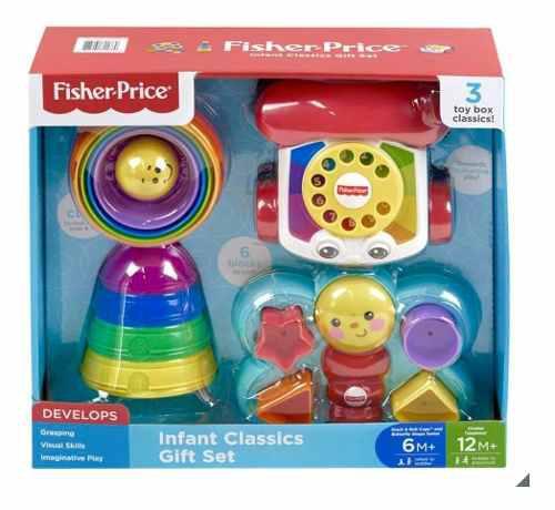 Fisher Price Teléfono Y Juegos De Regalo Para Bebé