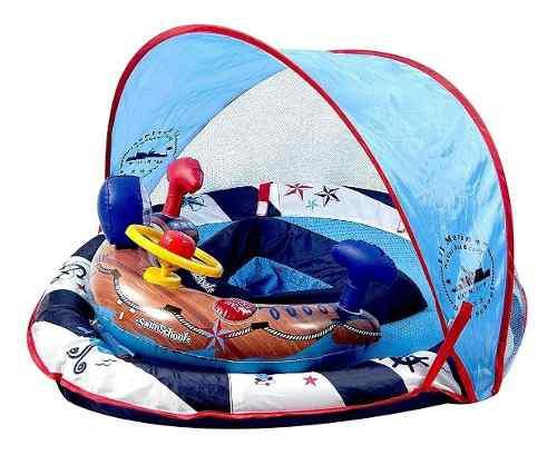 Flotador Para Bebe Marca Swimschool Modelo Lil Mariner Sunsh