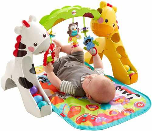 Gimnasio Gym Tapete Actividades Bebe Fisher Price 3 In 1