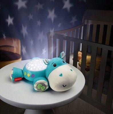 Hipopotamo Proyector Musical Hora De Dormir Fisher Price Bb