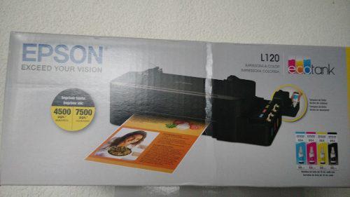 Impresora Epson L120 Sistema De Tinta Continua Envio Gratis