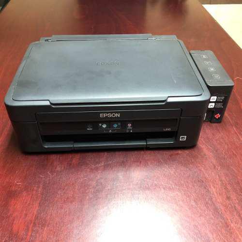 Impresora Epson L210 Tinta Continua Multifuncional Usada