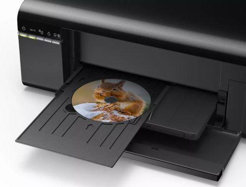 Impresora Epson Tinta Contínua 2 Charolas: Cd Y