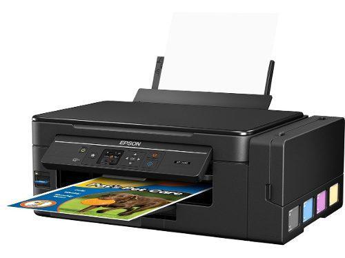 Impresora Epson Wifi Con Sistema De Tinta Continua Ecotank