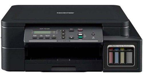 Impresora Multifuncional Brother T510 Wifi Tranque De Tinta