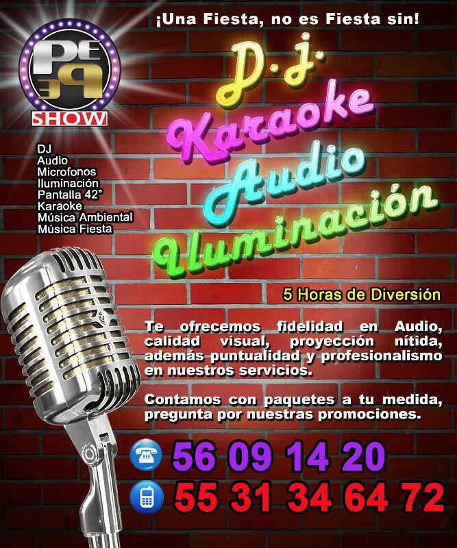 Karaoke Renta de Karaoke Audio Iluminacion para eventos y