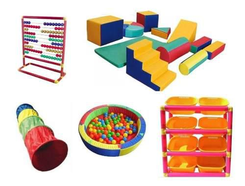 Kit Para Preescolar Incluye 15 Piezas Estimulacion Temprana