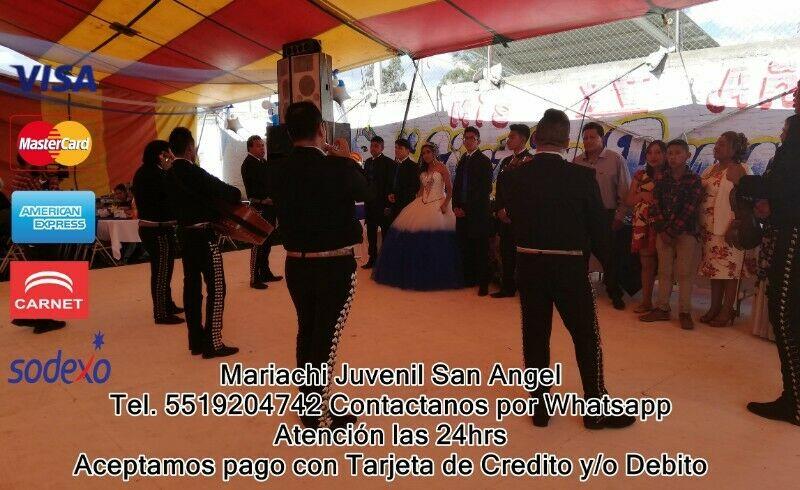 Mariachis en san pedro martir