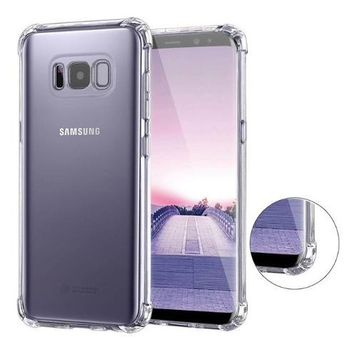 Mica + Funda Contra Golpes Samsung S7 S8 S9 S10 + Note 8 9