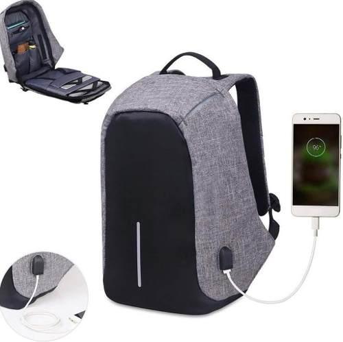 Mochila Antirrobo Para Laptop Puerto Usb Para Carga