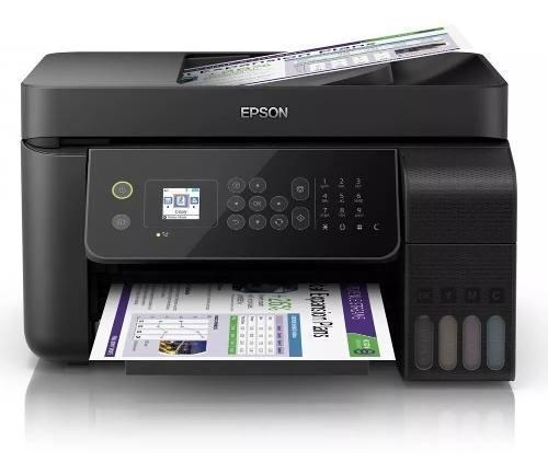Multifuncional Epson L5190 Tinta Continua Adf Oficio Wi-fi
