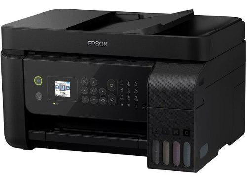 Multifuncional L5190 Epson Tinta Continua Adf Oficio Wi-fi