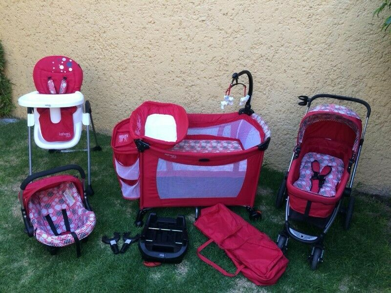 SET DE LUJO PARA BEBE INFANTI 3G LIFESTYLE