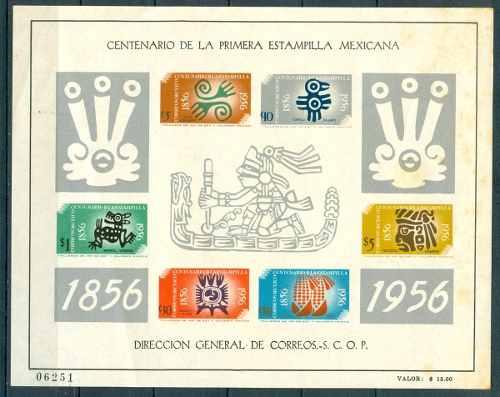Sc 896 A Año  Centenario De La Primera Estampilla En