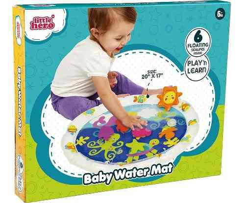 Tapete De Agua Bebé Estimulación Temprana Texturas