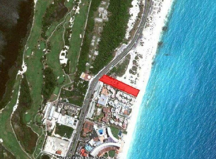 Terrenos en Venta en Cancun Zona Hotelera /