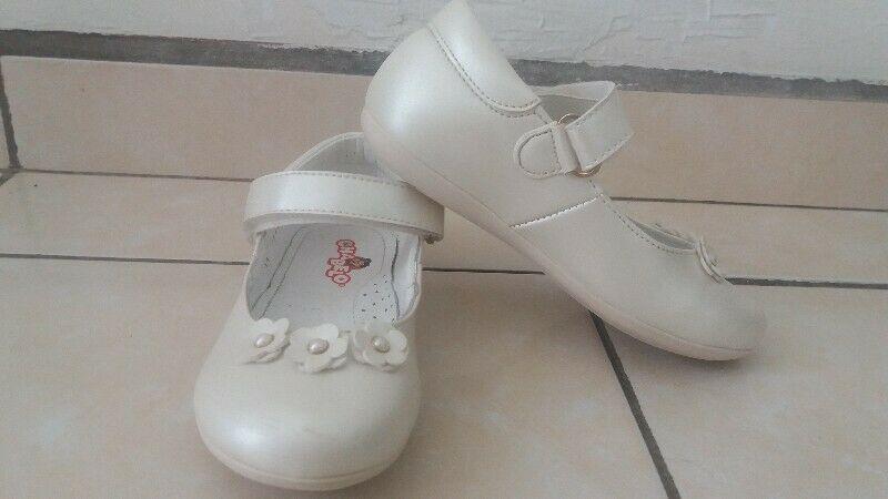 Zapatos Chabelo, 19cm, color perla