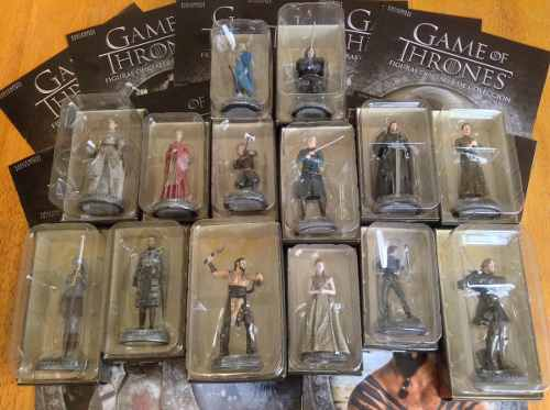 15 Figuras Game Of Thrones Milenio Khaleesi Snow Completa
