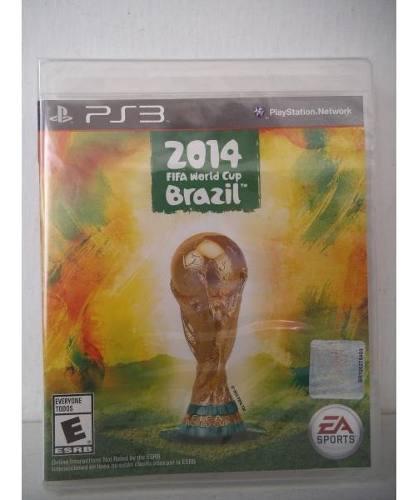 2014 Fifa World Cup Brazil Playstation Ps3 Juego Fisico