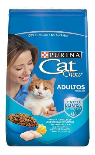 Alimento Para Gato Cat Chow Sabor Pescado 10 Kg