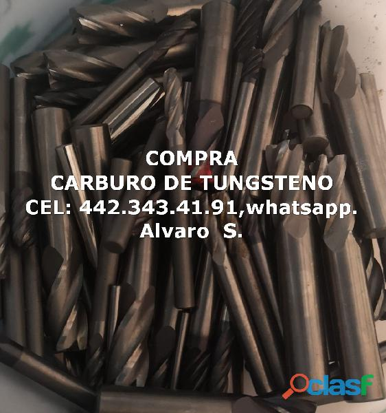 COMPRA DE CARBURO DE TUNGSTENO