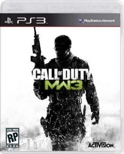 Call Of Duty Modern Warfare 3 Cod Ps3 Nuevo Y Sellado Juego