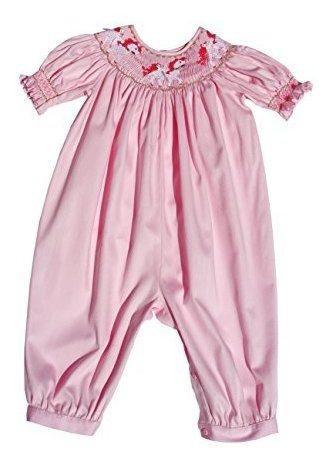Carouselwear Girls Pink, Mono De Burbuja Larga Con Carrusel