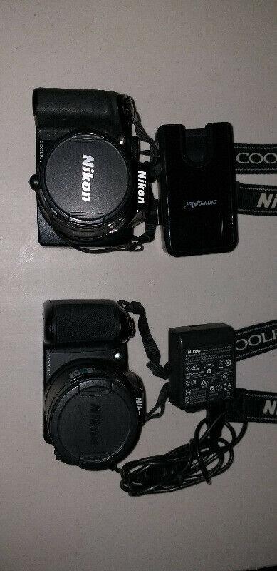 Cámaras Fotograficas Digitales Nikon Coolpix P100 y L810