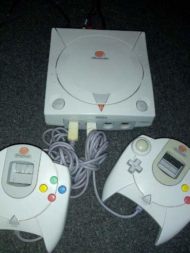 Consola Sega Dreamcast Con 2 Controles Envio Gratis