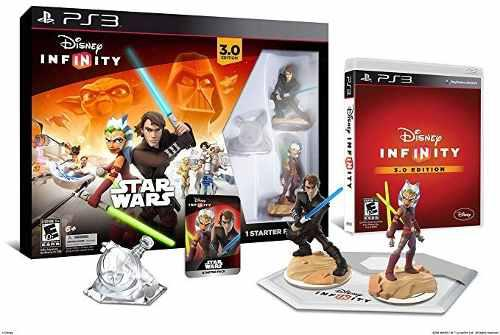 Disney Infinity 3.0 Starter Pack Para Ps3 ¡fisico, Nuevo!