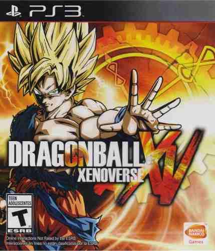 Dragon Ball Xenoverse Xv Juego Playstation 3 Ps3 En Karzov *