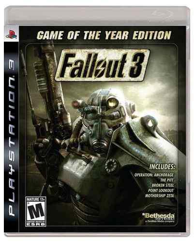 Fallout 3 Goty Ps3 Playstation 3 Nuevo Y Sellado Juego