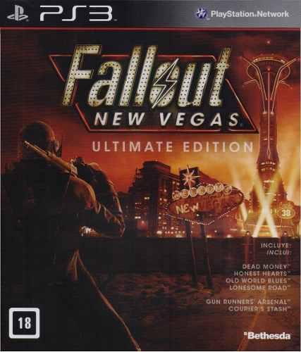 Fallout New Vegas Ultimate Juego Playstation 3 Ps3 En Karzov