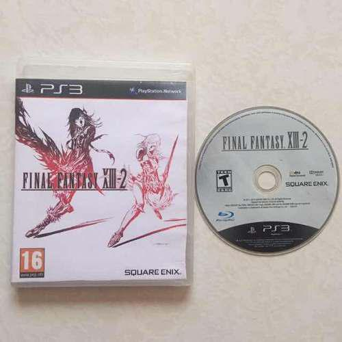 Final Fantasy Xiii-2 Portada Impresa Juegazo Ps3 Chécalo
