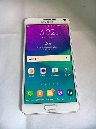 Galaxy Note 4 Libre Leve Detalle En Cristal 116