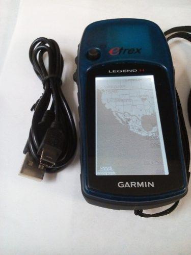 Gps Garmin Etrex Legend H Con Cable D Datos Excte Edo